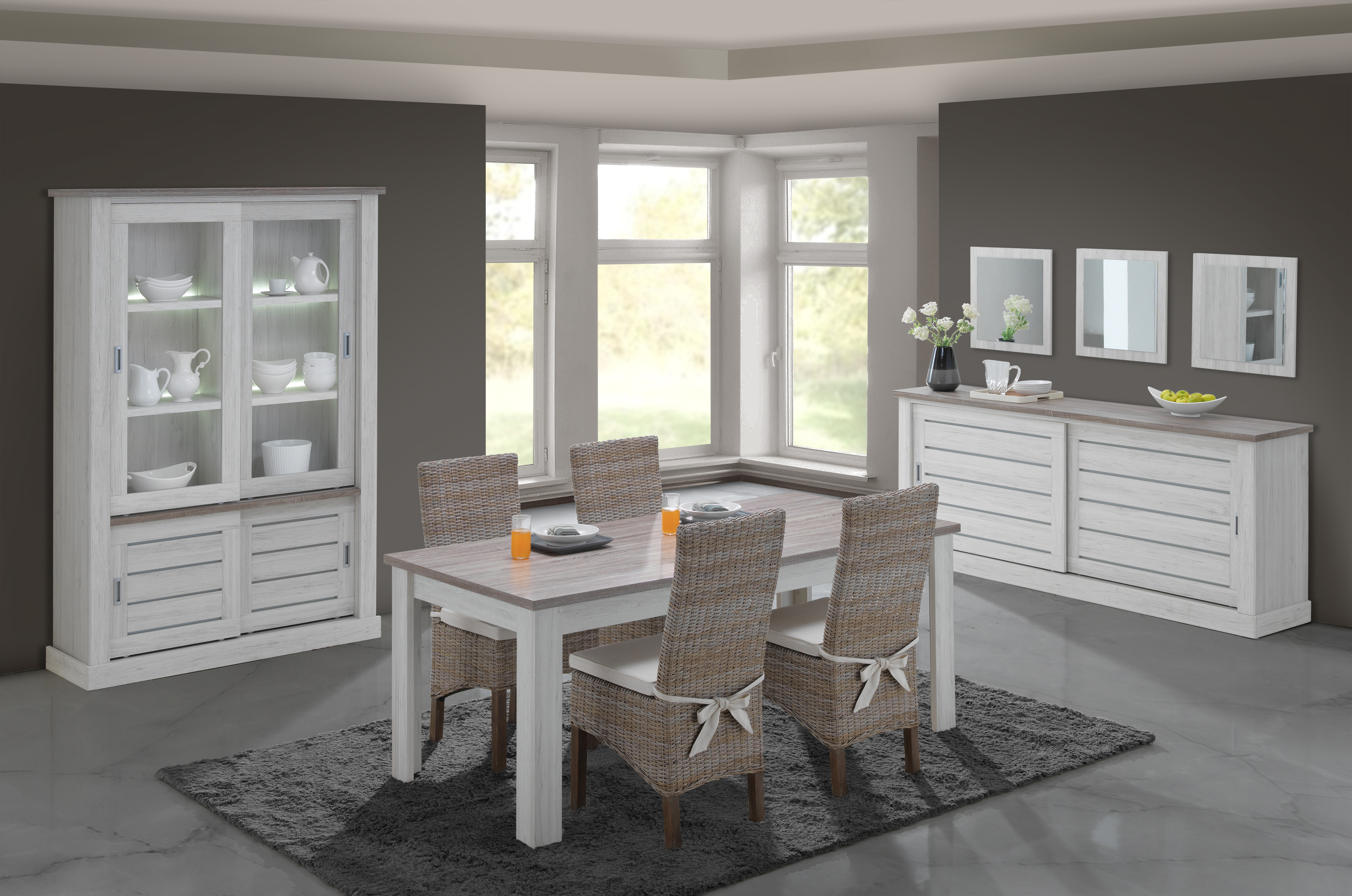 salle a manger eva. Black Bedroom Furniture Sets. Home Design Ideas